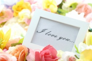 花 メッセージ iloveyou