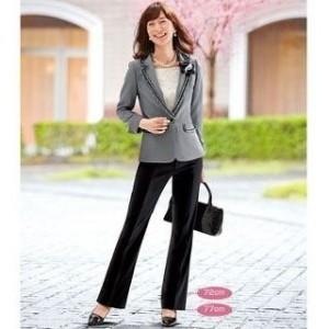 入学式 母親 パンツスーツ
