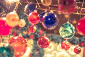 クリスマス ガラスオーナメント