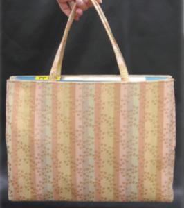 和柄のバッグ レディース