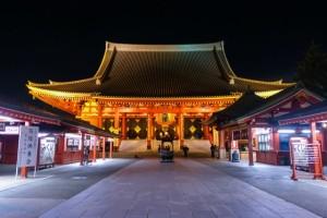 浅草寺 夜間