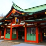 日枝神社の初詣2021の参拝時間!混雑具合や屋台期間は?駐車場は?