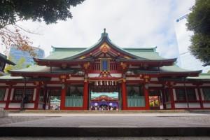 日枝神社 随身門