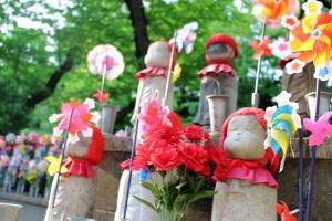 増上寺 千躰子育地蔵尊