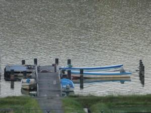 余呉湖 船着き場