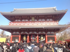 浅草寺 初詣