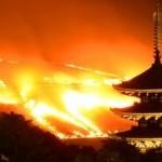 若草山の山焼き2017の日程と時間。花火の見どころスポットは?