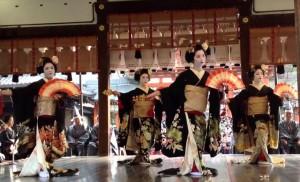 八坂神社 節分祭 舞妓