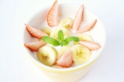 ヨーグルト 果物