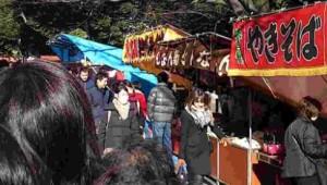 日枝神社 初詣 屋台
