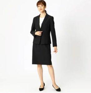 COMMECAISM スーツ 女性