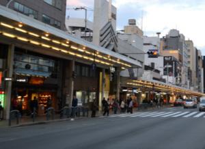 四条通 商店街