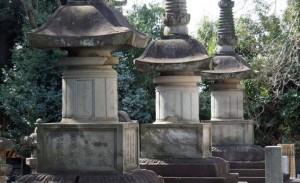 池上本門寺  紀州徳川家墓所