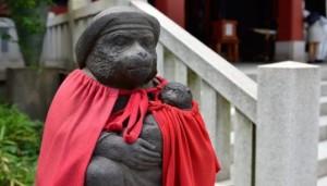 日枝神社 猿結び 初詣