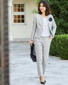 INDIVI スーツ 女性