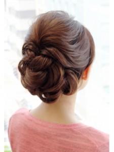 入学式 母親 髪型 ロングヘア