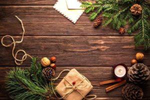 クリスマス 手紙 プレゼント 松ぼっくり