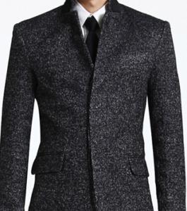 メンズ 黒のコート