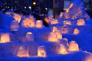 小樽雪あかりの路 キャンドル