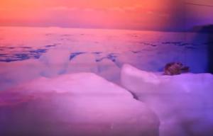 オホーツク流氷館 プロジェクションマッピング