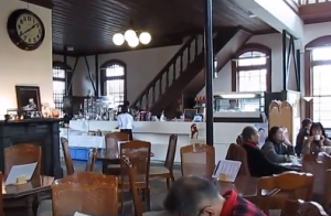 旧古賀銀行 カフェ
