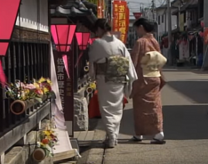 佐賀城下ひなまつり 着物