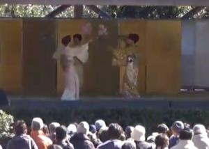 湯河原梅林 梅の宴 舞踊