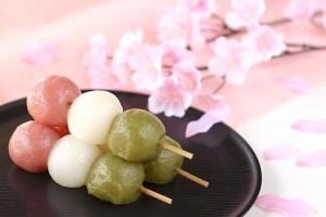 三色団子 桜