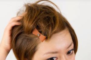 ポンパドール ショートヘア
