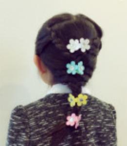 女の子 髪型 三つ編み