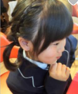 女の子 髪型 三つ編み ツインテール