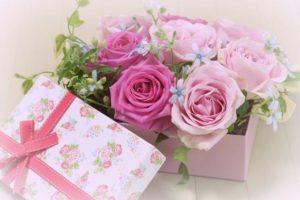 プレゼント ピンク バラ