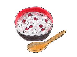 小豆粥 イラスト