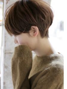 マニッシュボブ 髪型