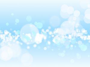 水玉 輝き ブルー 柄