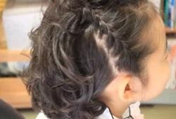 短い 髪型 セット