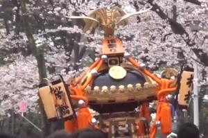 桜橋花まつり 神輿渡御