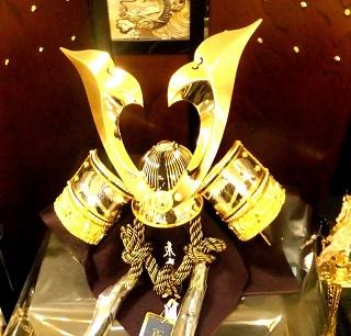 五月人形 黄金の兜