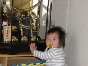 五月人形 赤ちゃん
