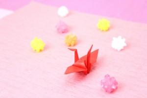 折り紙 金平糖