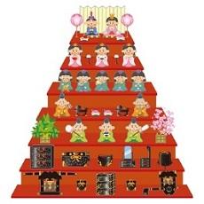 雛人形 ひな祭り