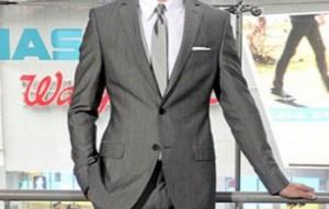 メンズスーツ グレー