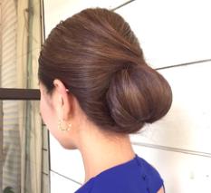 髪型 シニヨンスタイル 女性