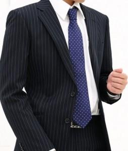 ストライプ スーツ