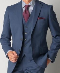 ネイビー スーツ メンズ