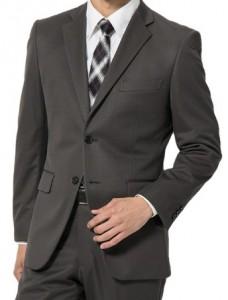 グレー スーツ メンズ