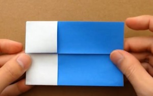 折り紙 鯉のぼり 4等分幅と3等分幅