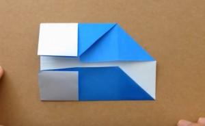 折り紙 折り込む