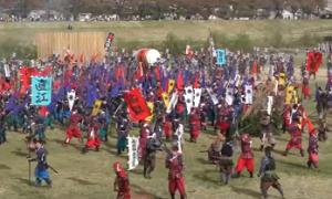 上杉まつり 川中島の戦い