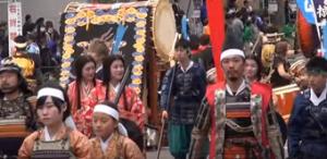 信玄公祭り 湖衣姫行列